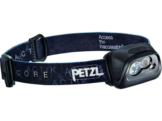 Petzl Actik Core Otsalamppu, black